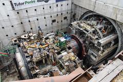 Bertha disassembly progress – July 2017