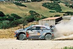 Paddon / Marshall - Hyundai i20 Coupe WRC - SS5 Tergu - Osilo - 9/6/17 - Rally D'Italia