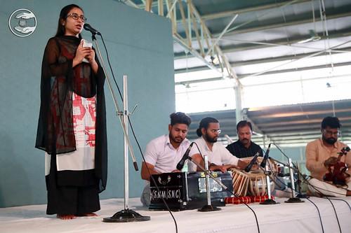 Devotional song by Promila Sirohi from Gobindpuri, Delhi