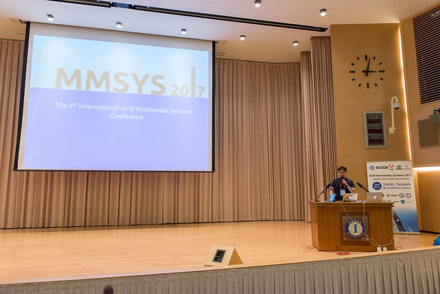 MMSys 2017 - Main Conference Day 1, June 20