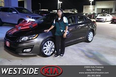 #HappyBirthday to Marbel from Gil Guzman at Westside Kia!