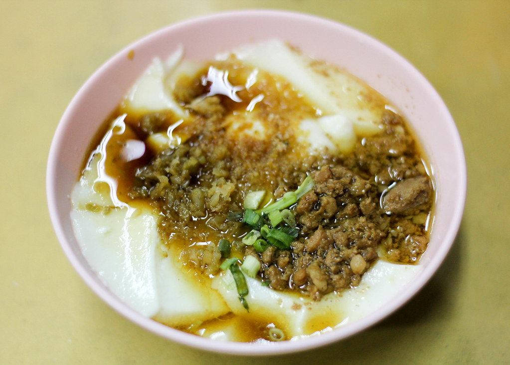 Supper Spots in the East: Yong He Eating House Saltish Beancurd