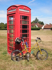 My Bike and a Red Telephone Box
