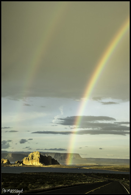 Lake Powell Rainbow 1