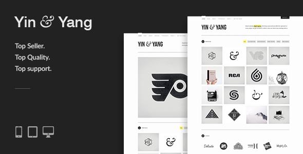 Yin & Yang v3.0.4 – Modern, Responsive, Clean & Creative WordPress Portfolio Theme, powered by AJAX