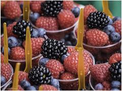 Blackberry, Blueberry, Raspberry