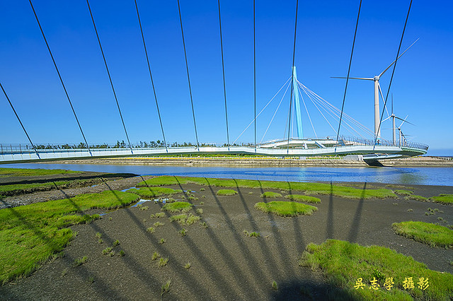 DV05270a--高美濕地景觀橋,高美溼地景觀橋,高美濕地風力發電,台中市,清水區(A7RII,AdobeRGB)
