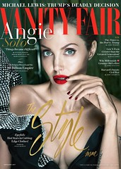 Η Angelina Jolie στο Vanity Fair