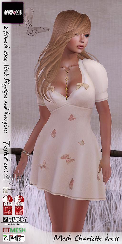Charlotte dress - SecondLifeHub.com