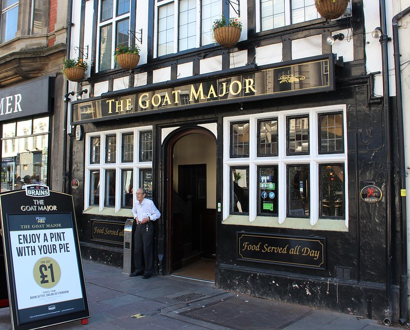 The Goat Major pub, Cardiff
