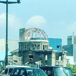 原爆ドーム見えた!
