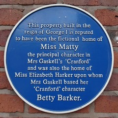 Photo of Elizabeth Harker blue plaque