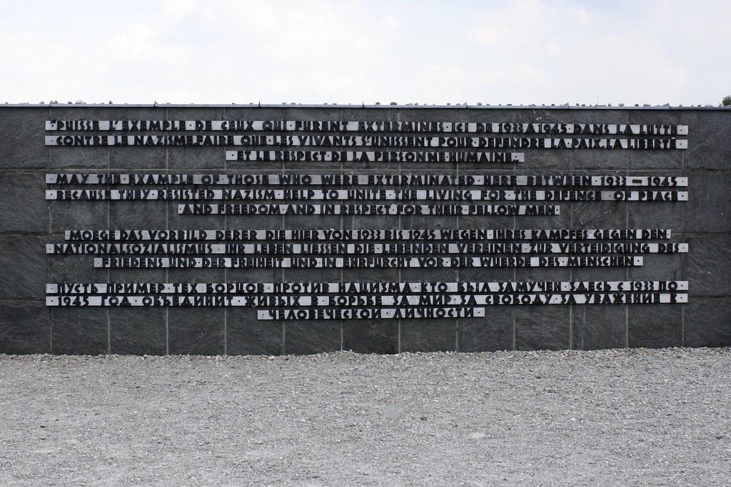 Dachau Memorial. Copyright 2017 Jonny Eberle.