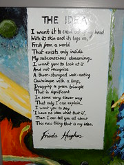 Idea (The), Frieda Hughes, Alternative Values Exhibition, Chichester Cathedral (3)