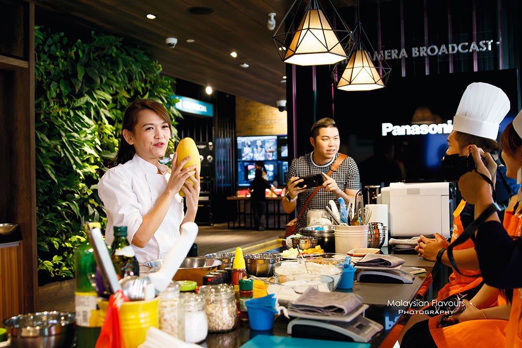 Cooking Workshop with Panasonic Cubie Oven
