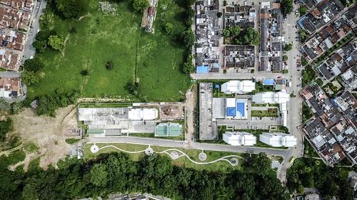 piedecuesta drone aereal aérea panoramica urbanismo desarrollo ciudad urbano edificios santander mavicpro mavic dji