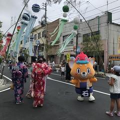 いしのまけん さん。 #石巻川開き祭り