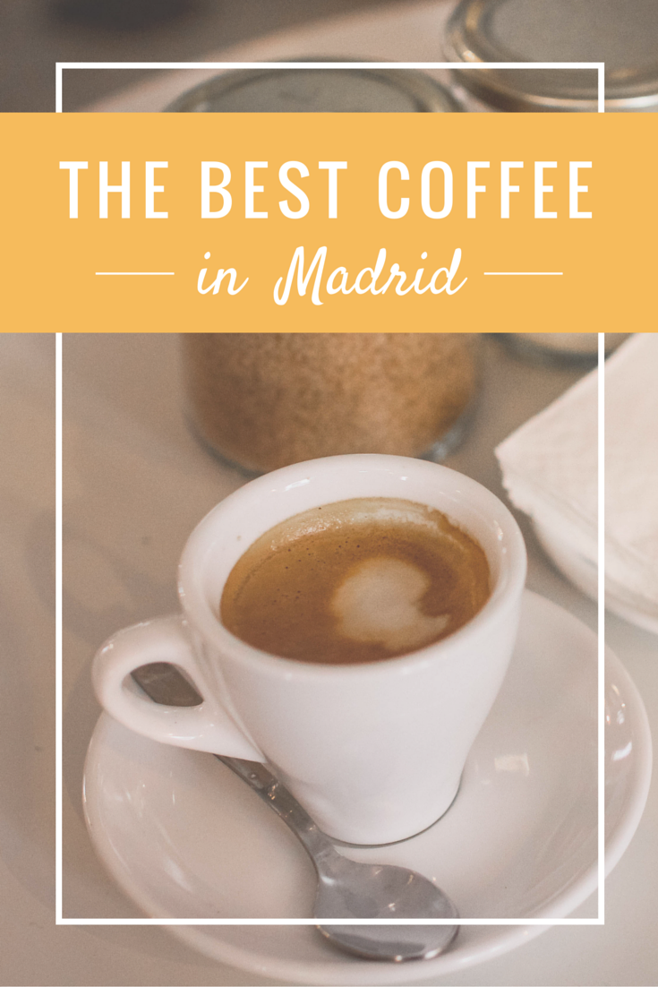My Hunt for the Best Coffee in Madrid