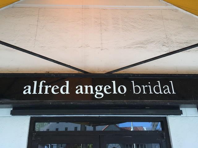 Header of Alfred Angelo