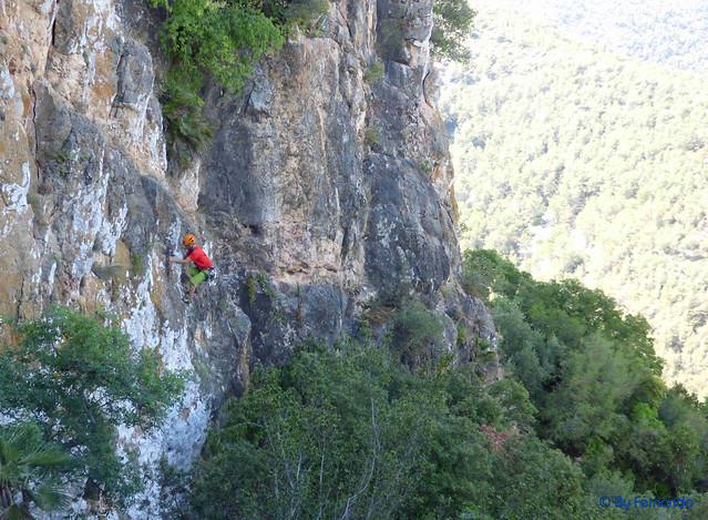Roger Ferrer - Cornellà-Llüisa, L1_V+_6a L2_6b -03- El Castellot, Sector Nord (15-07-2017)