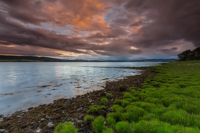The Beauly Firth ..