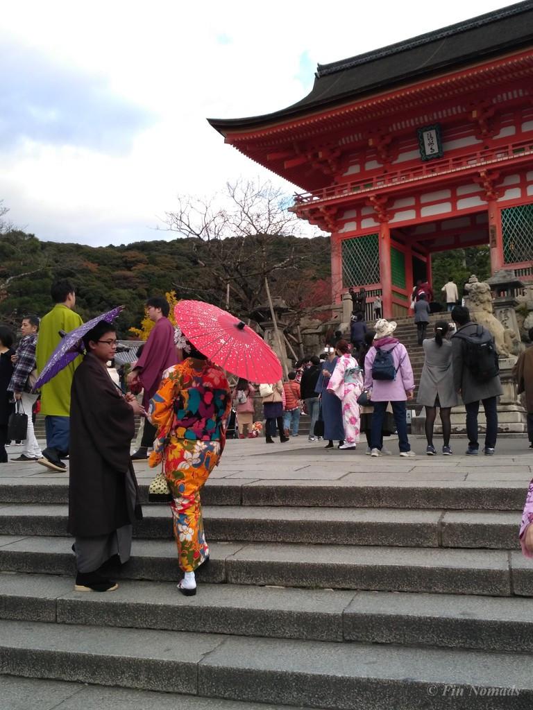 Kyoto japanese couple