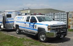 NYPD 2016 Chevrolet Silverado 2500 HD - Mounted Unit 9909 (1)