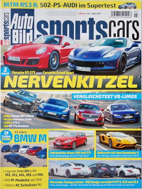 Auto Bild Sportscars 3/2017