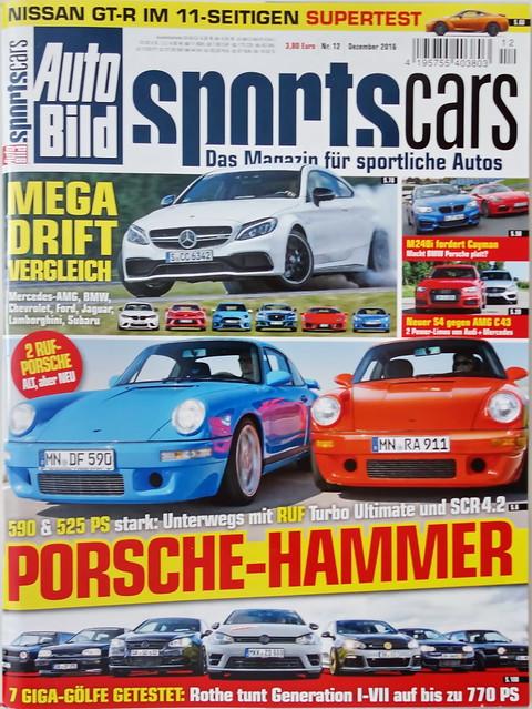 Auto Bild Sportscars 12/2016