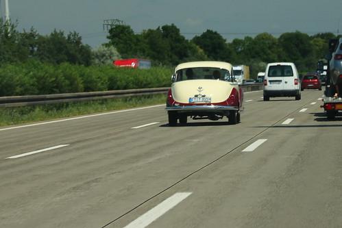 17497.BMW 502 auf der A4