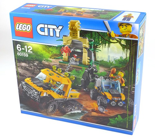 LEGO City 60159 Jungle Halftrack Mission 01