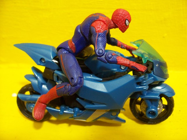 Spiderman and Arcee