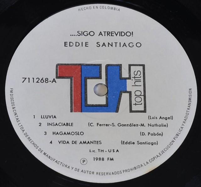 EDDIE SANTIAGO - Sigo Atrevido