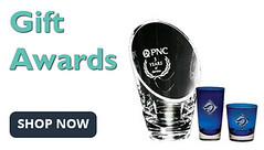 Personalized gift awards for holidays and recognition