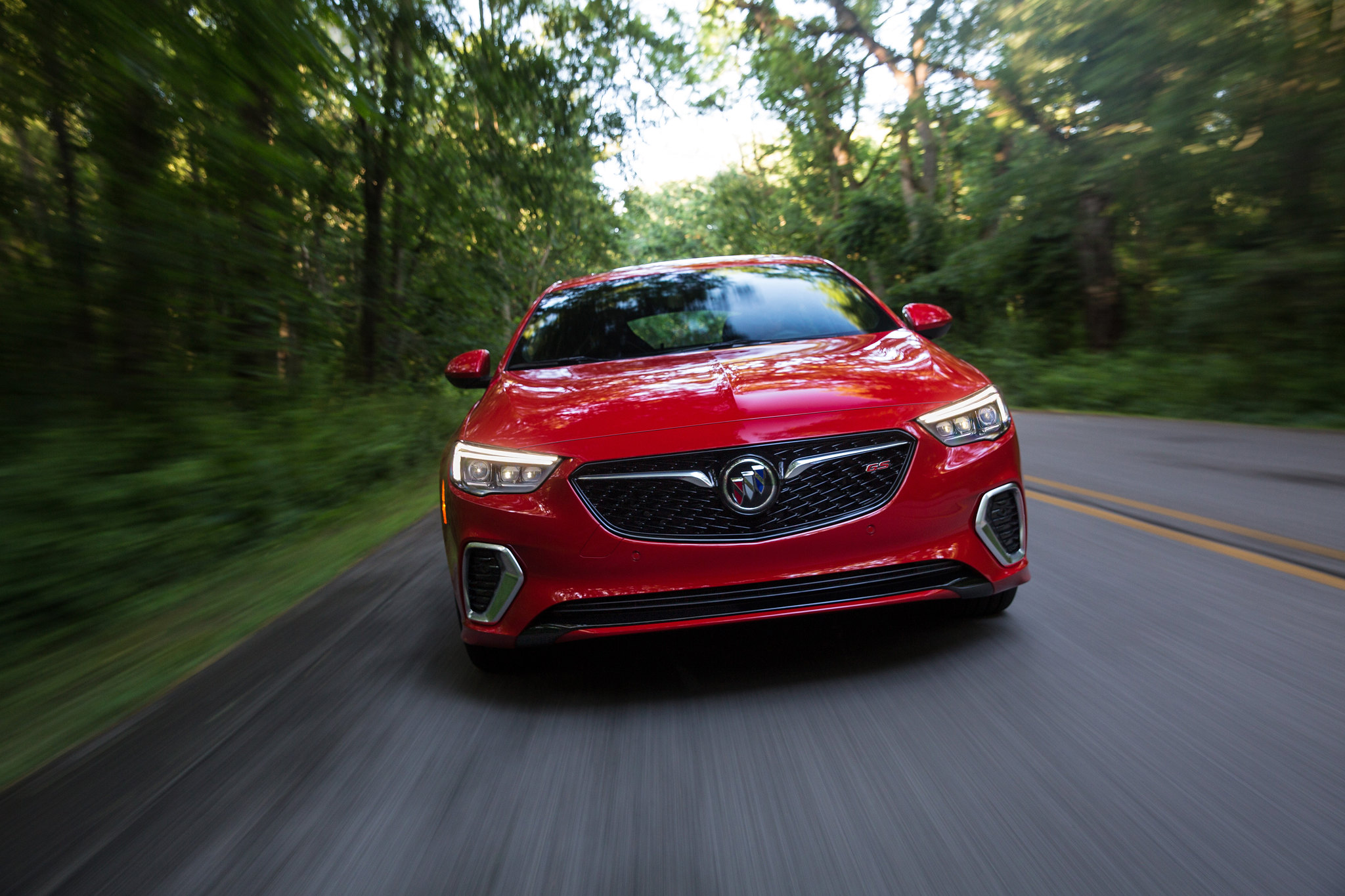 This is the 2018 Buick Regal GS