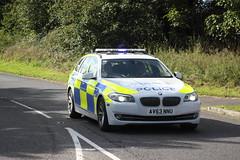 AV63NNU BMW 530d of Norfolk & Suffolk Police