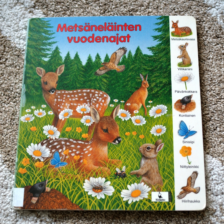 metsäneläinten_vuodenajat_kirja