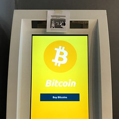 Stumbled upon a Bitcoin ATM for the first time and it's in Asheville. First step though is to scan your government-issued ID ?
