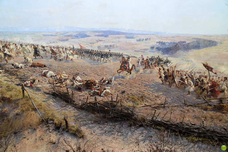Panorama of the Battle of Racławice (10/11)