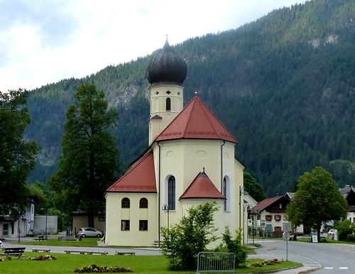Weißenbach am Lech - Kirche Heiliger Sebastian