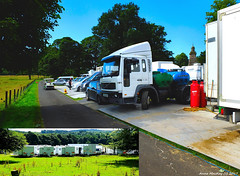 Scotland west coast a major motion picture being filmed in the lovely Inverkip countryside 24 July 2017 by Anne MacKay