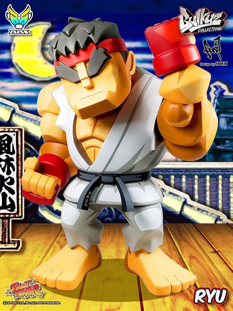 「新增官圖&販售資訊」魄力滿點!!BigBoysToys 全新Bulkyz Collection 系列 第一彈【隆】Street Fighter Ryu 登場!!