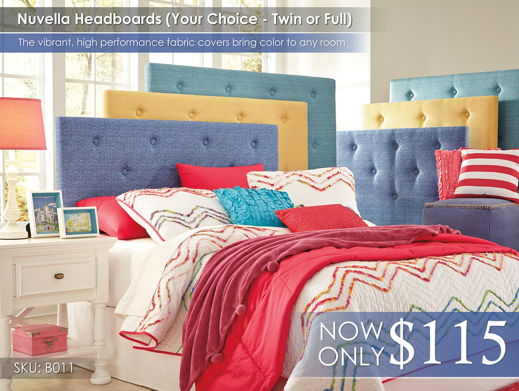 Nuvella Headboards B011-COLORWHEEL