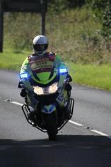 BMW motorbike of unidentified Police force
