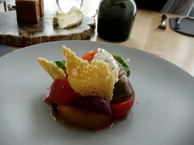 Botanist heirloom tomatoes salad