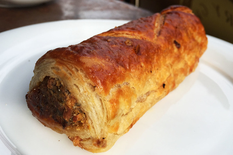 Sausage roll, Pottery Green Bakers