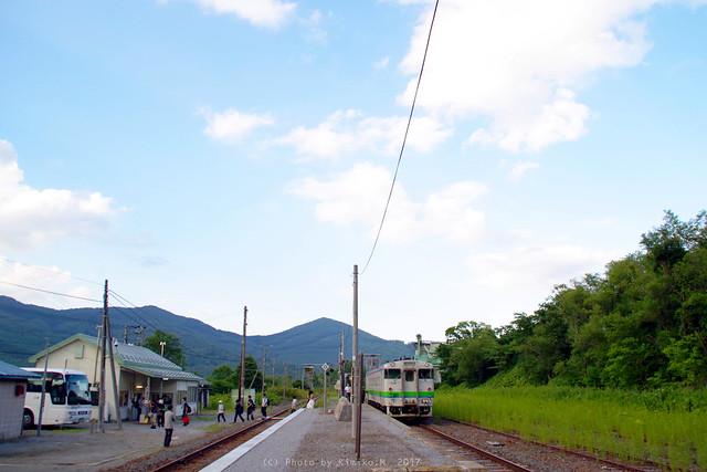 東鹿越駅、最後の夏③