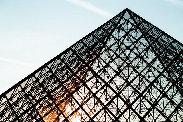 Pyramide du Louvre Paris, Canon EOS 6D, Canon EF 70-200mm f/4L