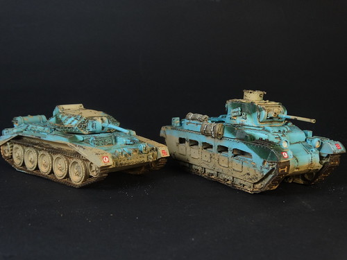Bolt Action - British Tanks & Vehicles
