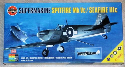 Seafire Mk.III, Airfix 1/48 36193707215_58e1093b50